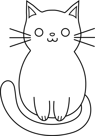 Basic Cat Drawing : basic, drawing, Drawing,, Download, Clipart, Library