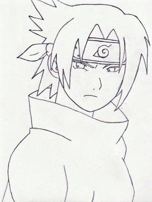 naruto sasuke drawing easy uchiha draw drawings library clipart getdrawings clip