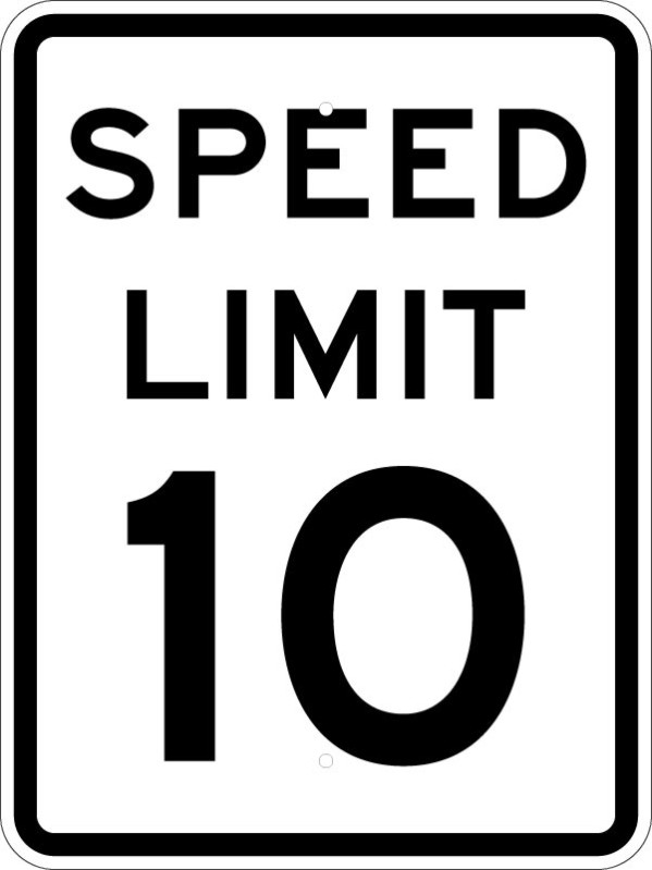 Free Speed Limit Sign, Download Free Clip Art, Free Clip