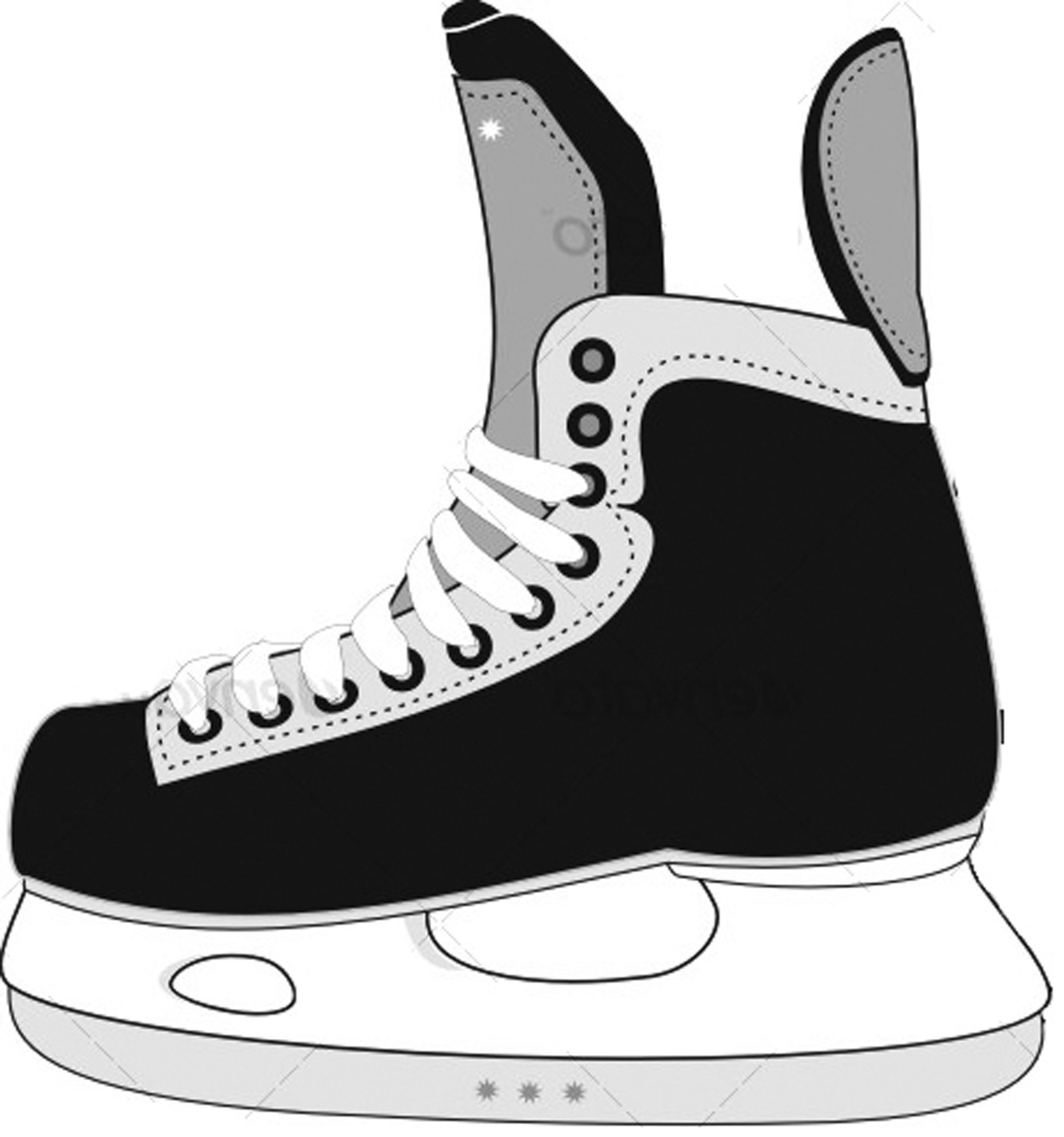 hight resolution of hockey clip part clipart library