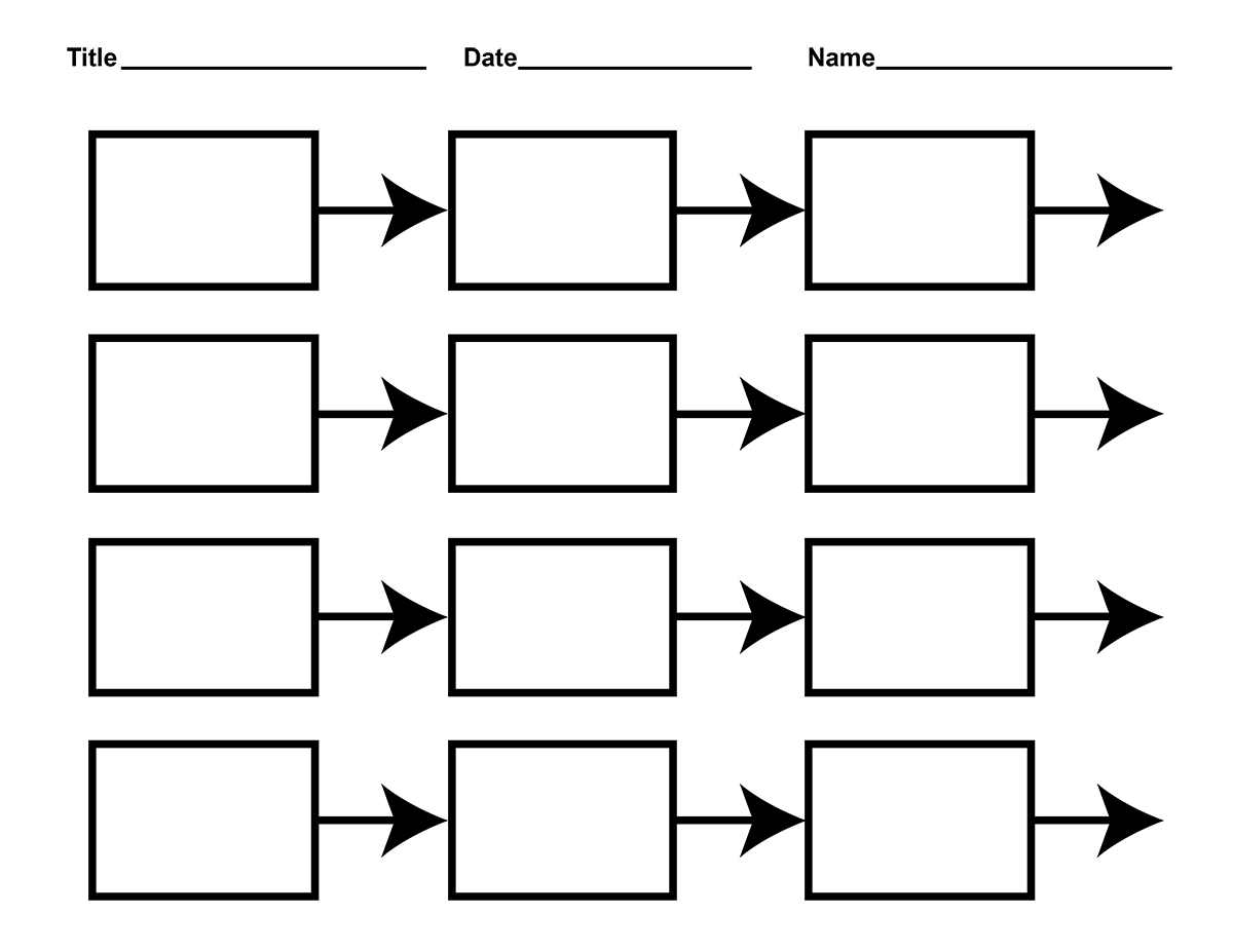 Free Printable Storyboard Template, Download Free Clip Art