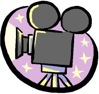 Image result for movie camera clipart