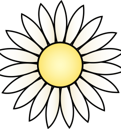 daisy clip art free clipart library free clipart images [ 4948 x 4901 Pixel ]