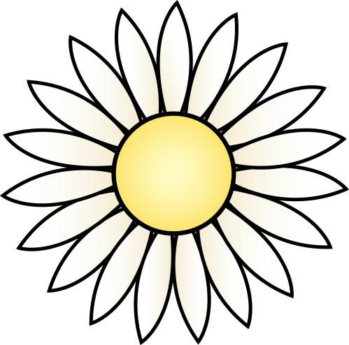 small resolution of daisy clip art free clipart library free clipart images