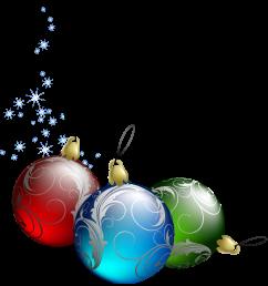 tree christmas transparent ornaments clipart [ 1258 x 1326 Pixel ]