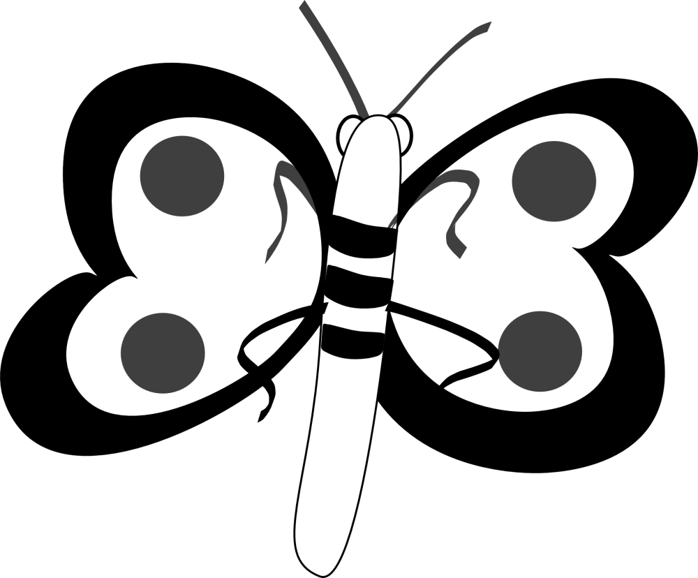 medium resolution of butterfly wallpaper black and white clipart library