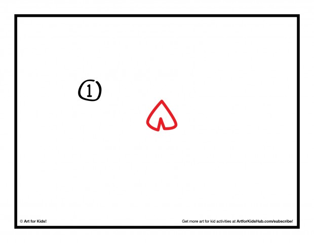 Free How To Draw A Simple Heart, Download Free Clip Art