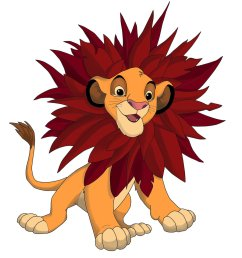 young simba tlk lion cubs fan art 36139350 fanpop [ 900 x 1041 Pixel ]
