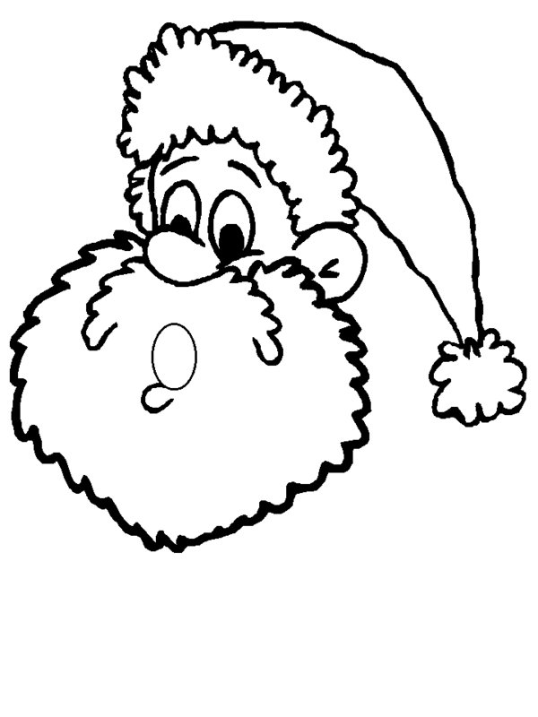 Free Santa Claus Face Pictures, Download Free Clip Art