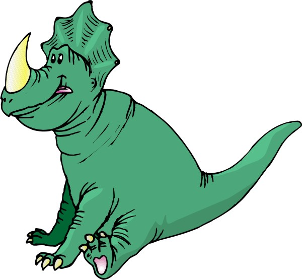 Free Dinosaurs Cartoon Clip Art