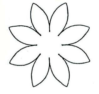 Free Daisy Template, Download Free Clip Art, Free Clip Art