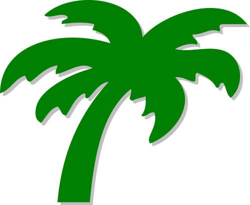 small resolution of palm tree clip art clipart library free clipart images