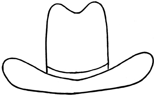 Free Drawing Of A Cowboy Hat, Download Free Clip Art, Free