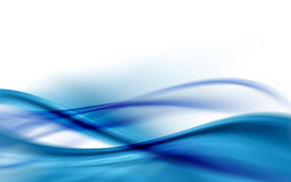 Vector Abstract Background With Blue Wave - Free
