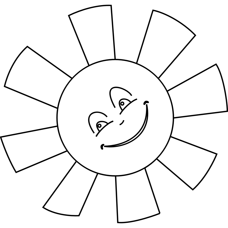 Free Happy Face Outline, Download Free Happy Face Outline