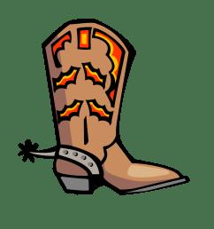 cowboy boot clip art clipart library [ 1331 x 1722 Pixel ]