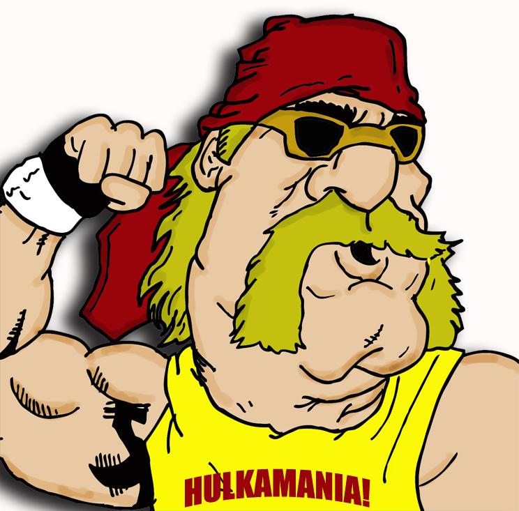 Hulk Hogan Cartoon