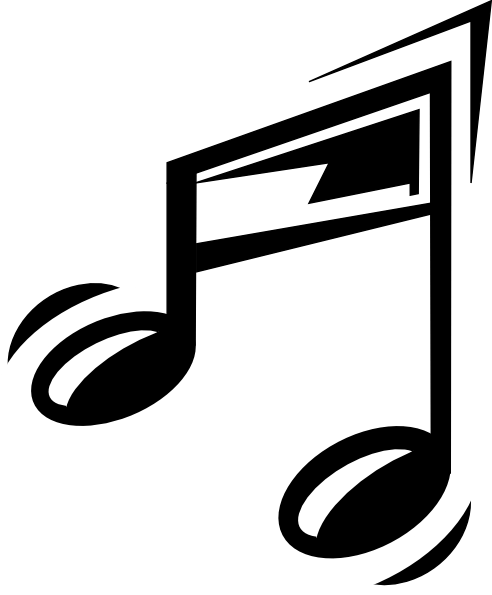 Cartoon Notes : cartoon, notes, Cartoon, Music, Note,, Download, Clipart, Library