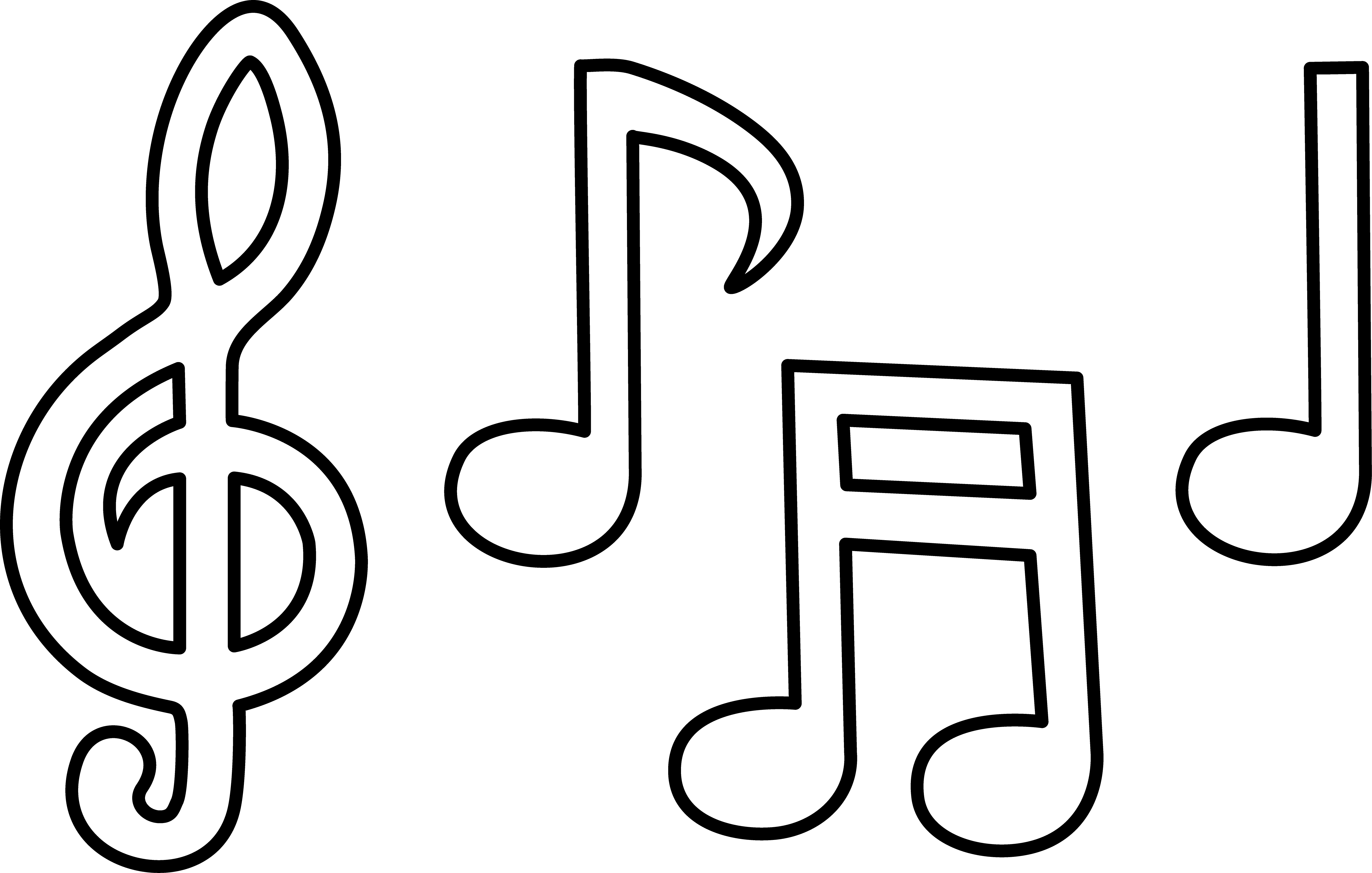 Free Free Pictures Of Music Notes Download Free Clip Art