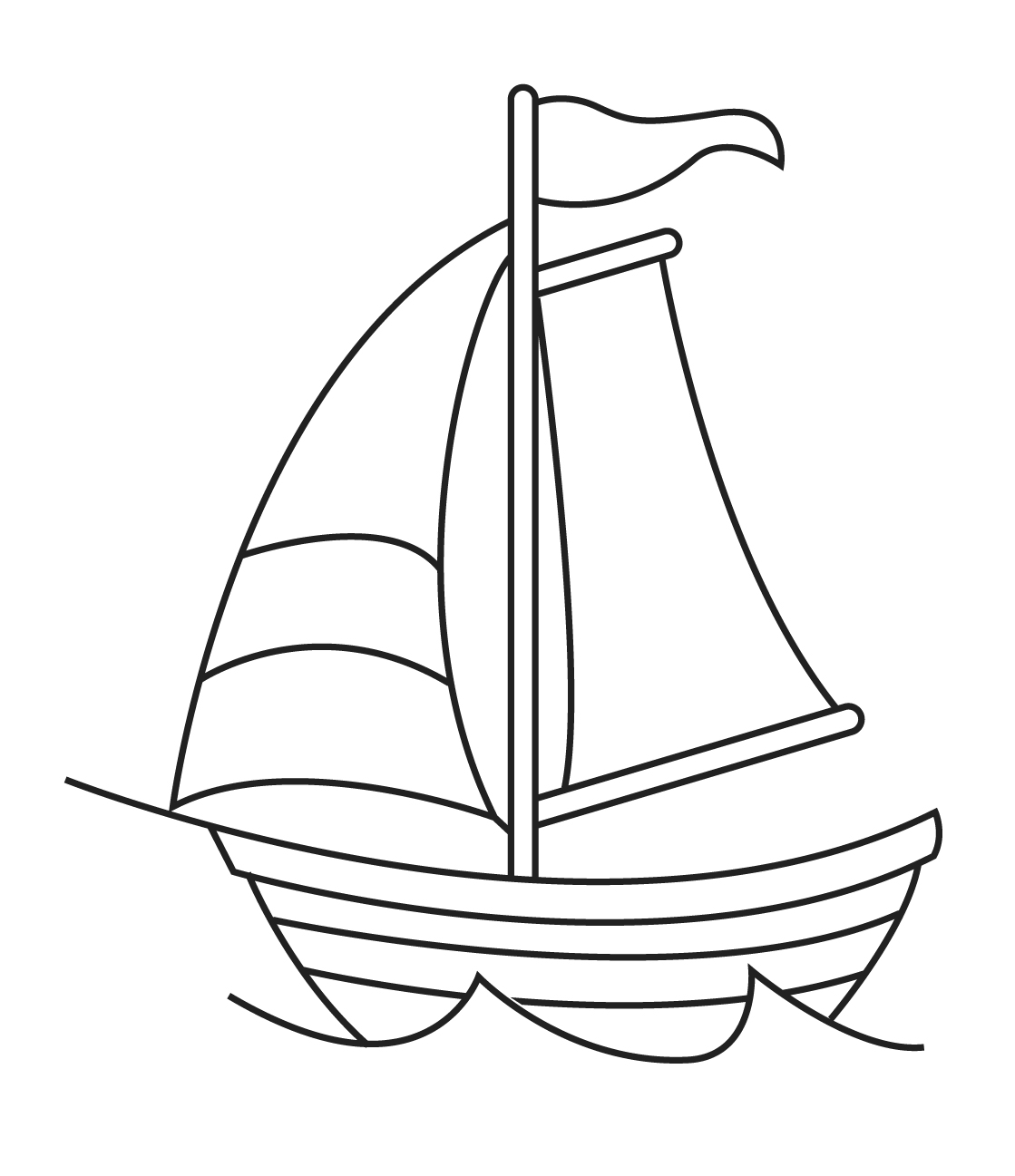 Free Simple Ship Drawing Download Free Clip Art Free