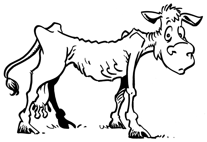 Fat Sheep Clip Art Vector Cartoon Illustration With Simple Cow