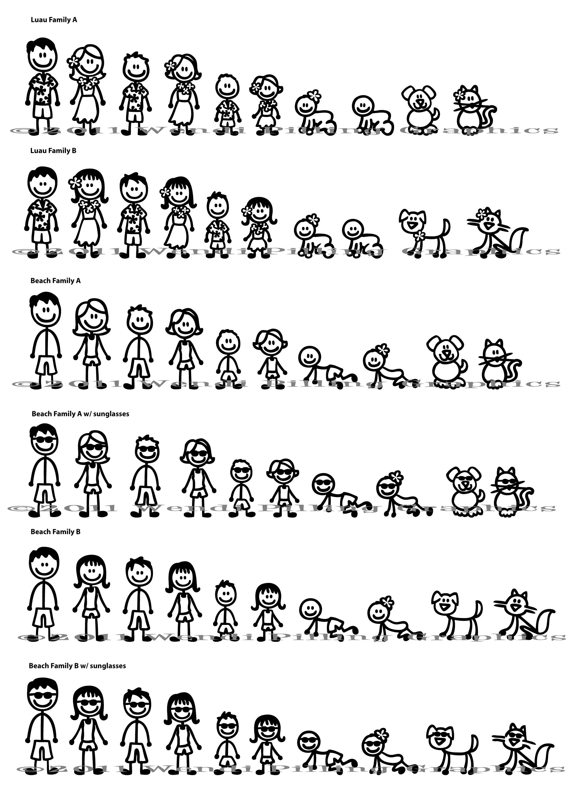 Free Stick People Family Download Free Clip Art Free