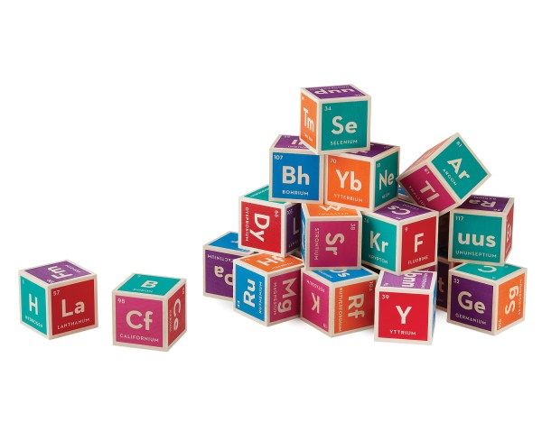 Periodic Table Building Blocks Toy Element