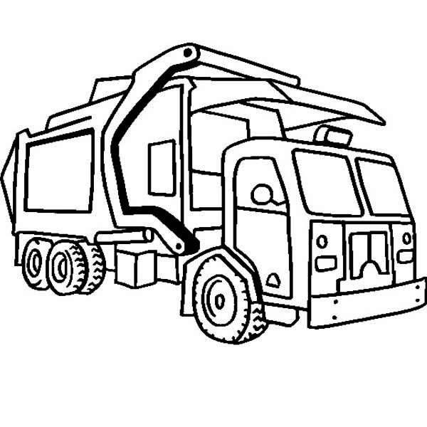 Free Garbage Truck Clipart, Download Free Clip Art, Free