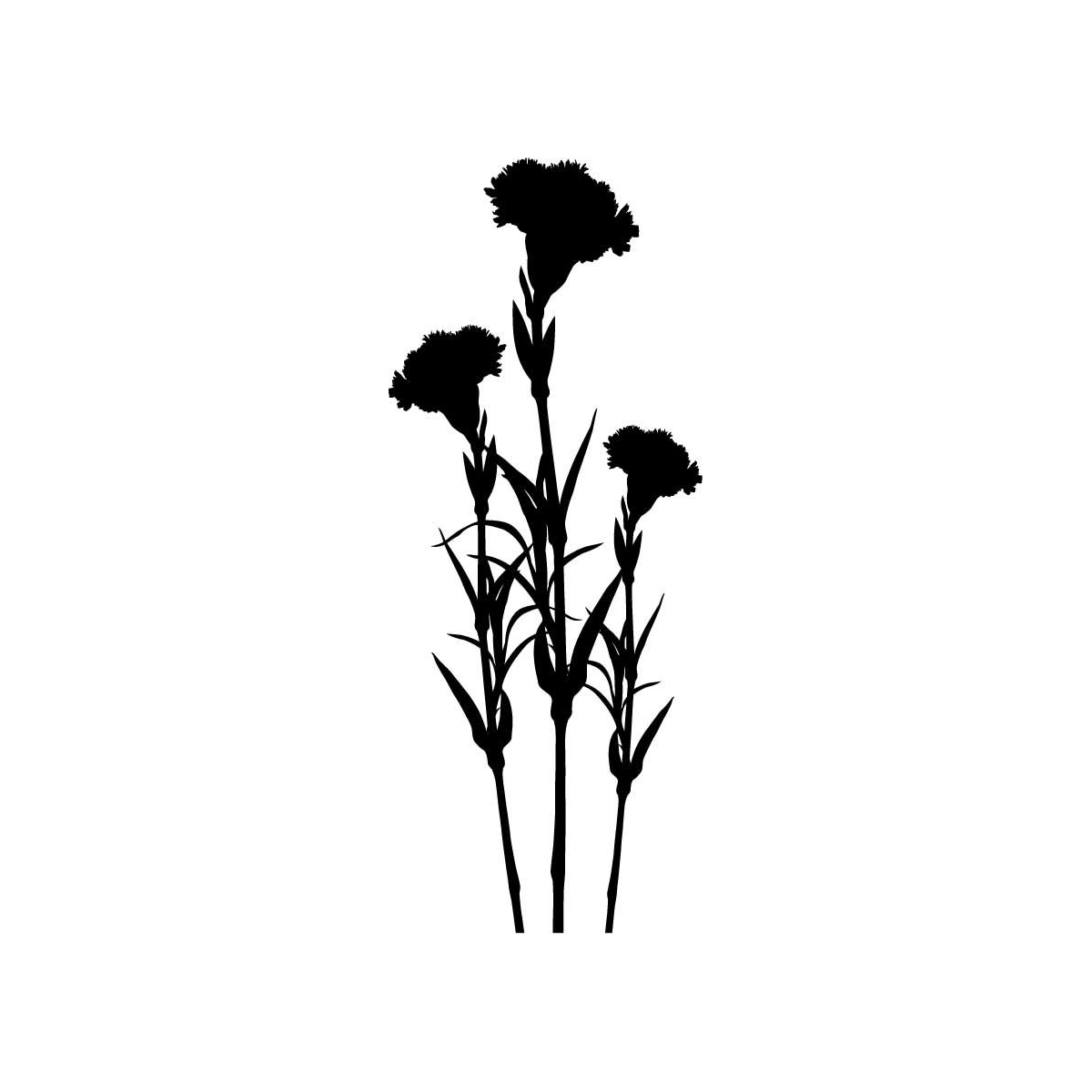 Free Carnation Flower Tattoo Designs Download Free Clip