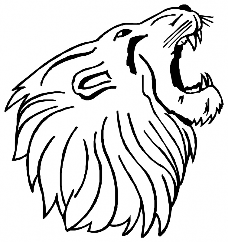 Free Lion Head Image, Download Free Clip Art, Free Clip