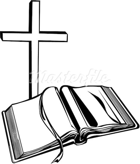 free cross and bible