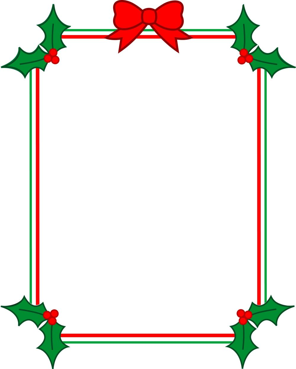 medium resolution of christmas page borders for microsoft word clipart library