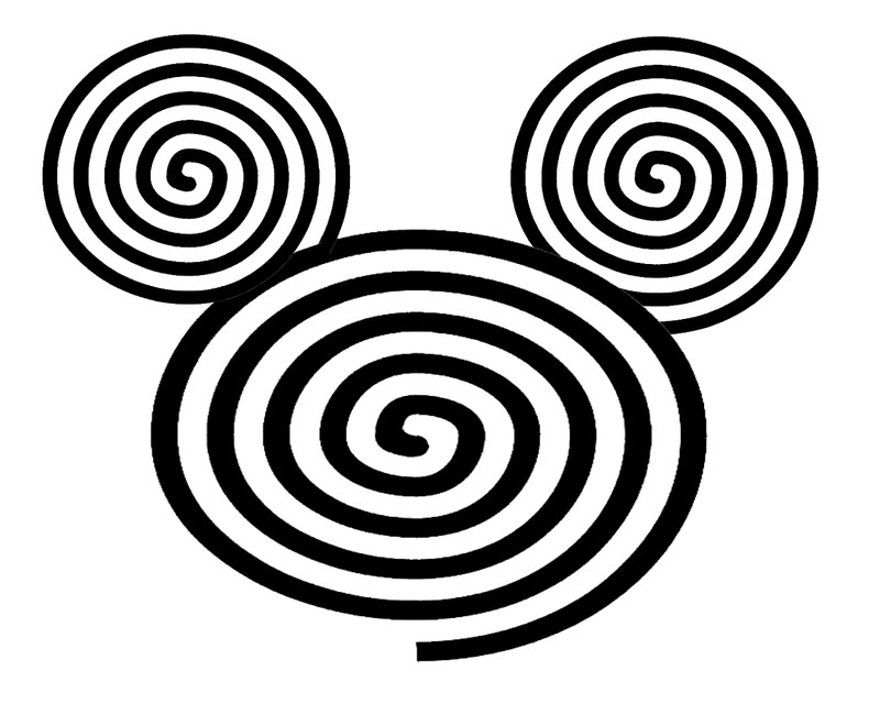 Free Mickey Mouse Face Template, Download Free Clip Art