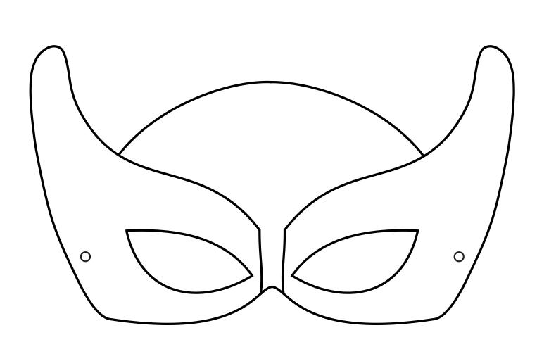 Free Batman Mask Template, Download Free Clip Art, Free