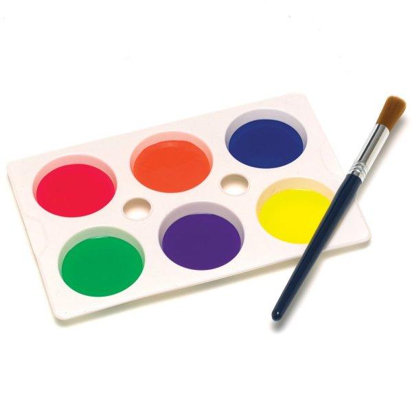 Free Paint Palette Clip Art