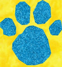 blue s clues paw print flickr photo sharing  [ 1024 x 1024 Pixel ]