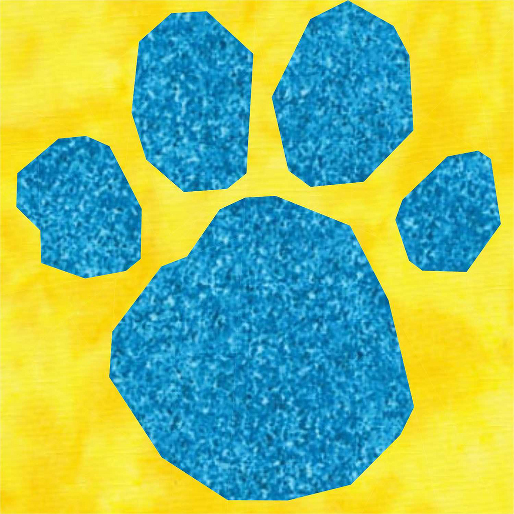 hight resolution of blue s clues paw print flickr photo sharing