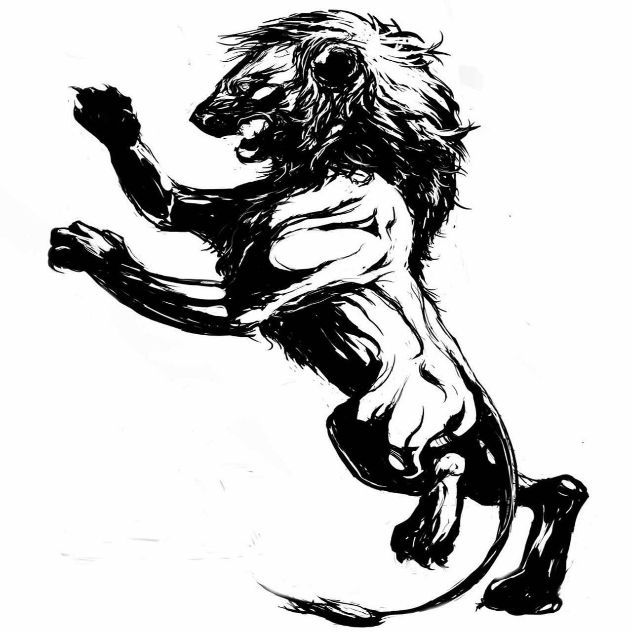Free Lion Claw Tattoo Download Free Clip Art Free Clip