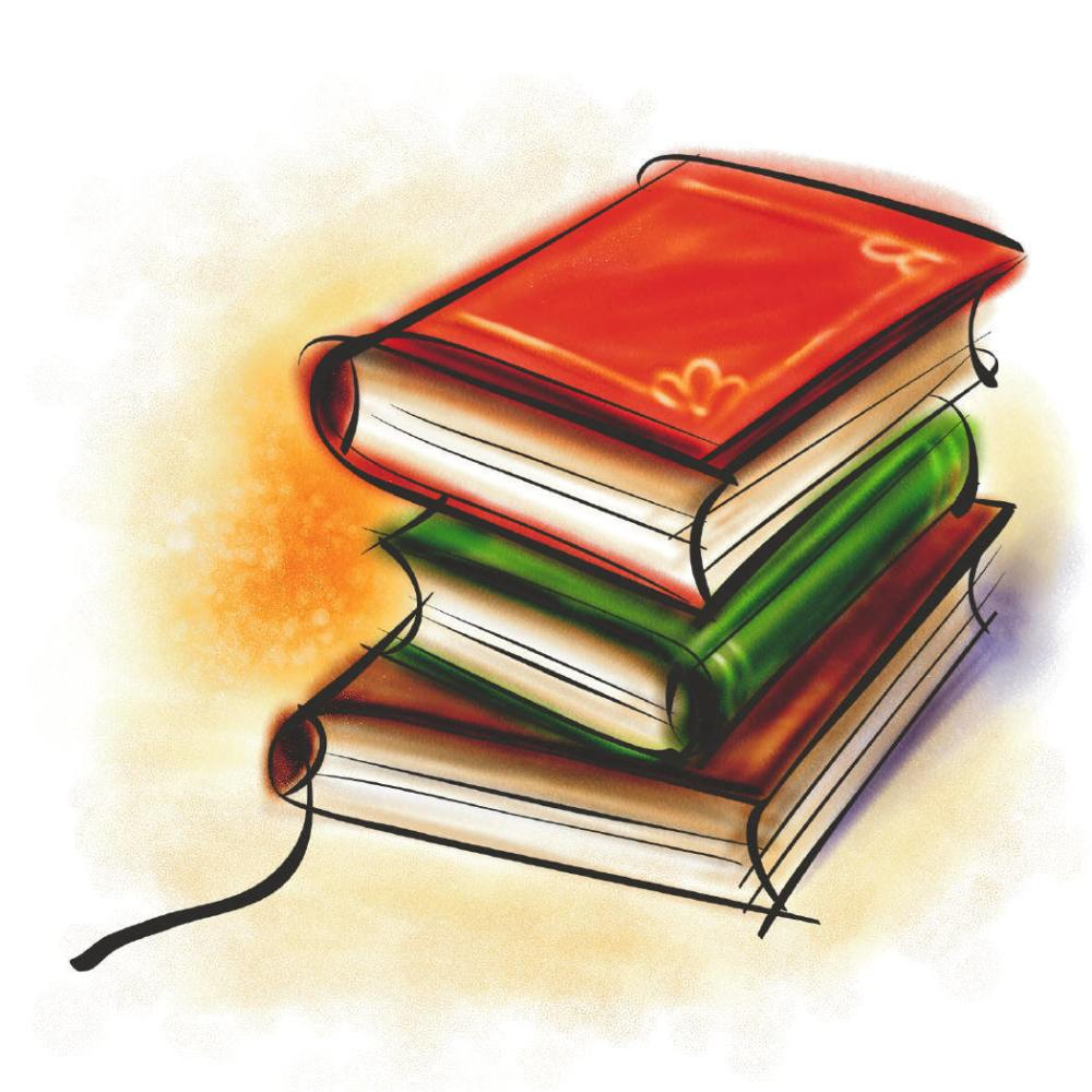 medium resolution of free clipart of books and reading clipart library