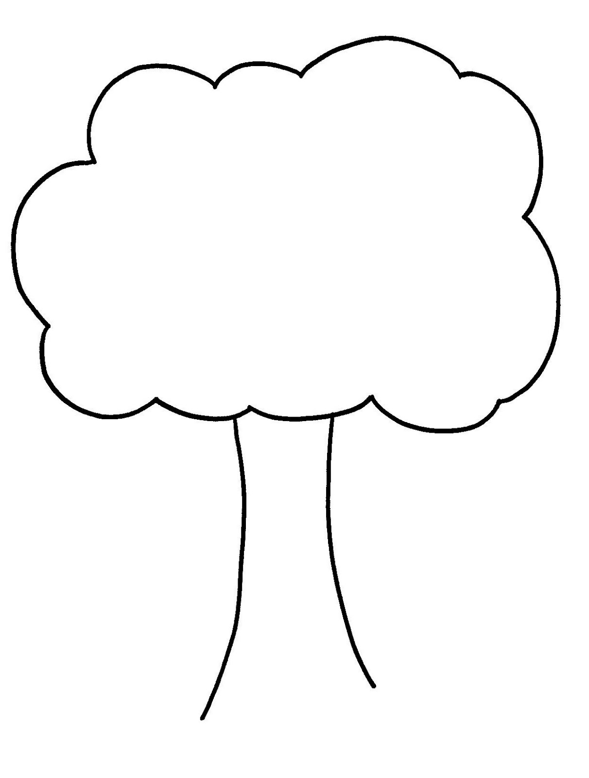 Simple Tree Clipart Black And White : simple, clipart, black, white, Simple, Clipart, Black, White,, Download, Library