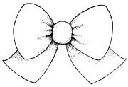 black and white bow tie clip art