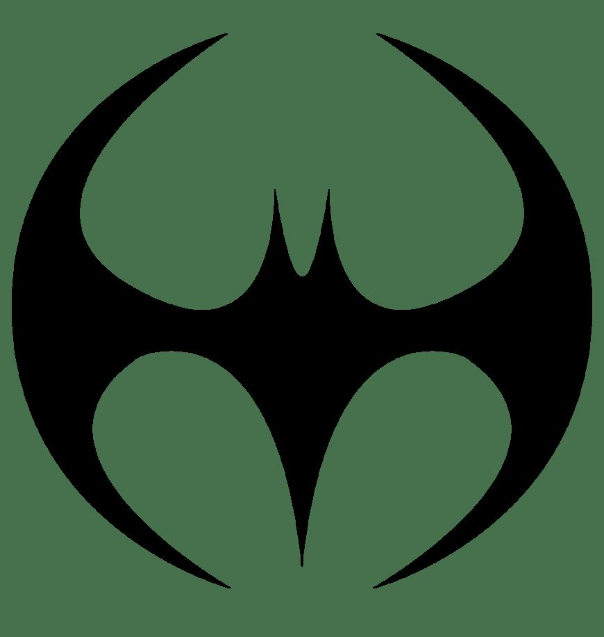 Batman Symbol Coloring Pages Clipart Library