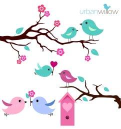 mint love birds clip art set clipart library free clipart images [ 1500 x 1500 Pixel ]