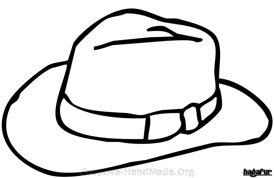 Free Cowboy Hat Stencil, Download Free Clip Art, Free Clip