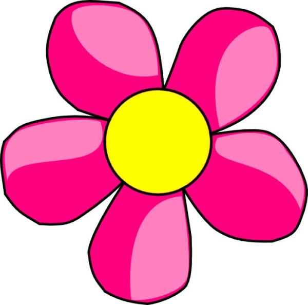 flowers clip art pink free reference