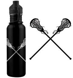 lacrosse sticks f 24 oz stainless steel water bottle le [ 1050 x 1050 Pixel ]