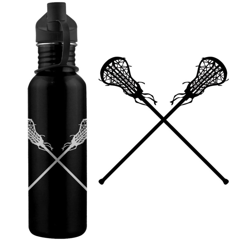 medium resolution of lacrosse sticks f 24 oz stainless steel water bottle le