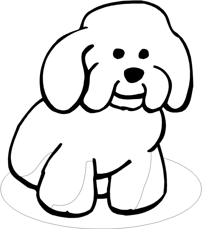 Free Outline Of A Dog, Download Free Clip Art, Free Clip