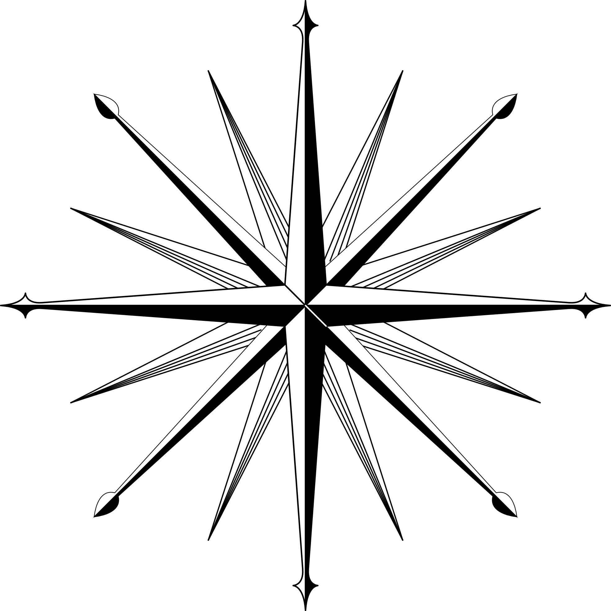 Free Fancy Compass Rose Download Free Clip Art Free Clip