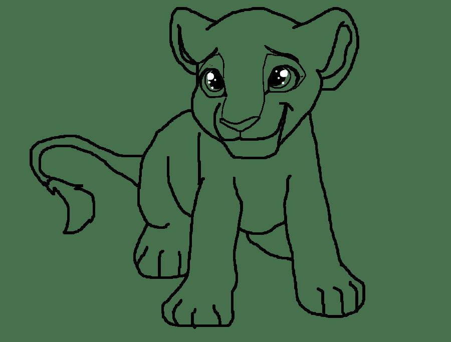Free Lion Line Art, Download Free Clip Art, Free Clip Art